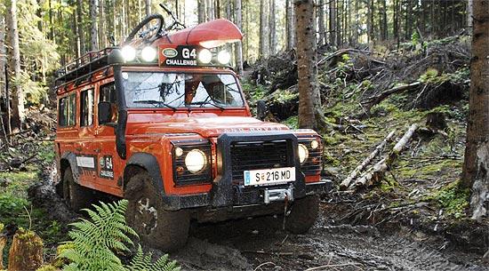 Land Rover Darien >> Land Rover G4 Challenge: Die Gewinner