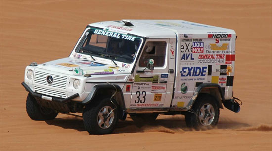 Danner Racing: Puch / Mercedes G 320
