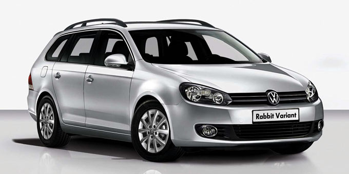 VW Golf Rabbit Variant 4MOTION