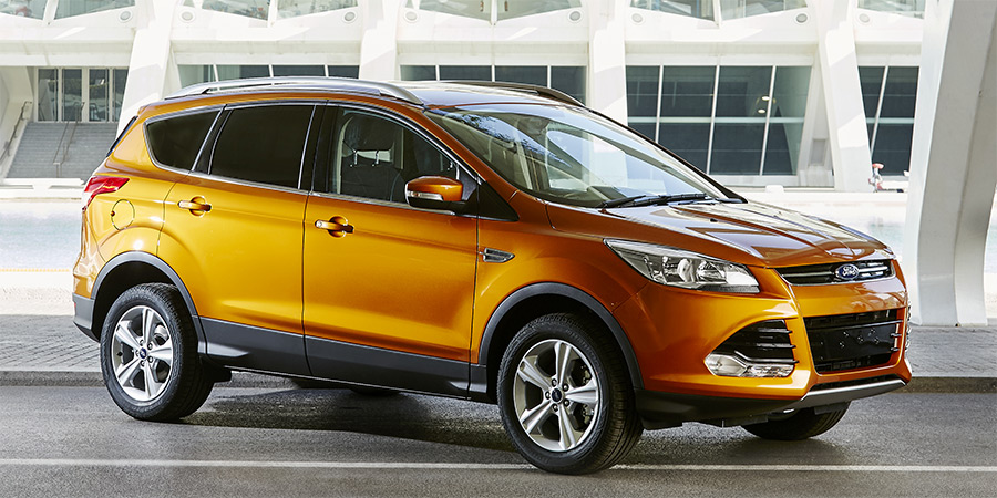 Ford Kuga 2014 in Calypso Orange