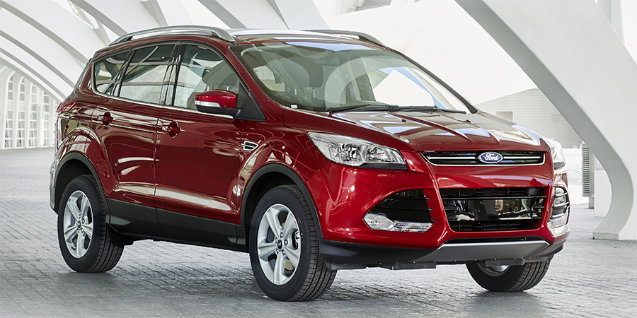 Ford Kuga 2014 in Ruby Rot Metallic