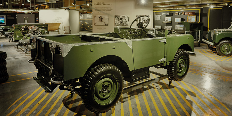 Land Rover Serie 1 Original Replika