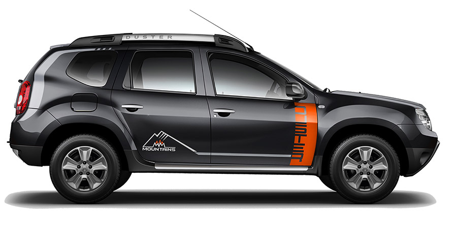 Dacia Duster 'Mountains'