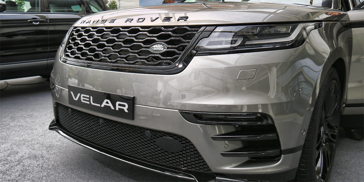 Range Rover Velar bei den Design Days in Grafenegg