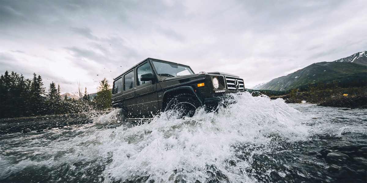 Mercedes G North Face