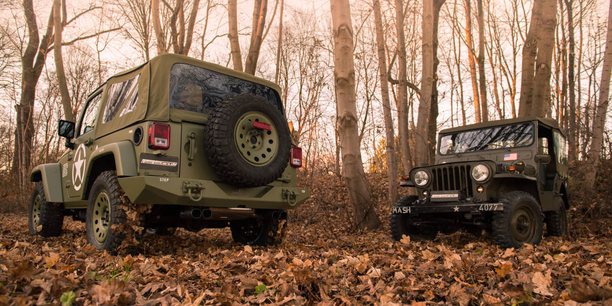 Geiger Jeep Wrangler Willys Edition