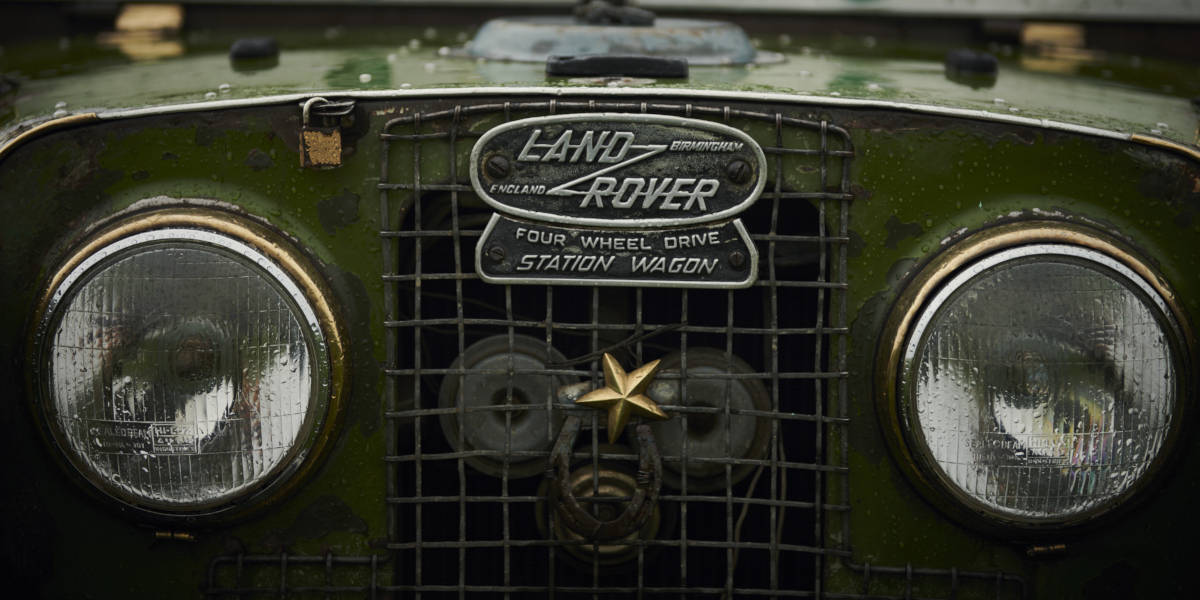 Land Rover in Indien
