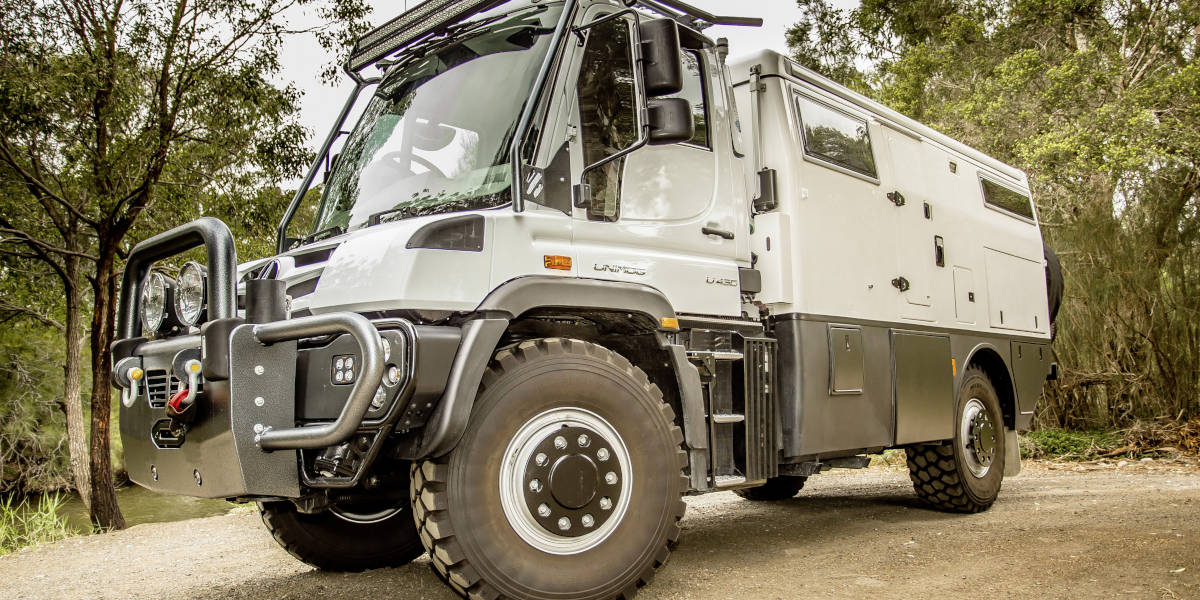 Unimog Earth Cruiser