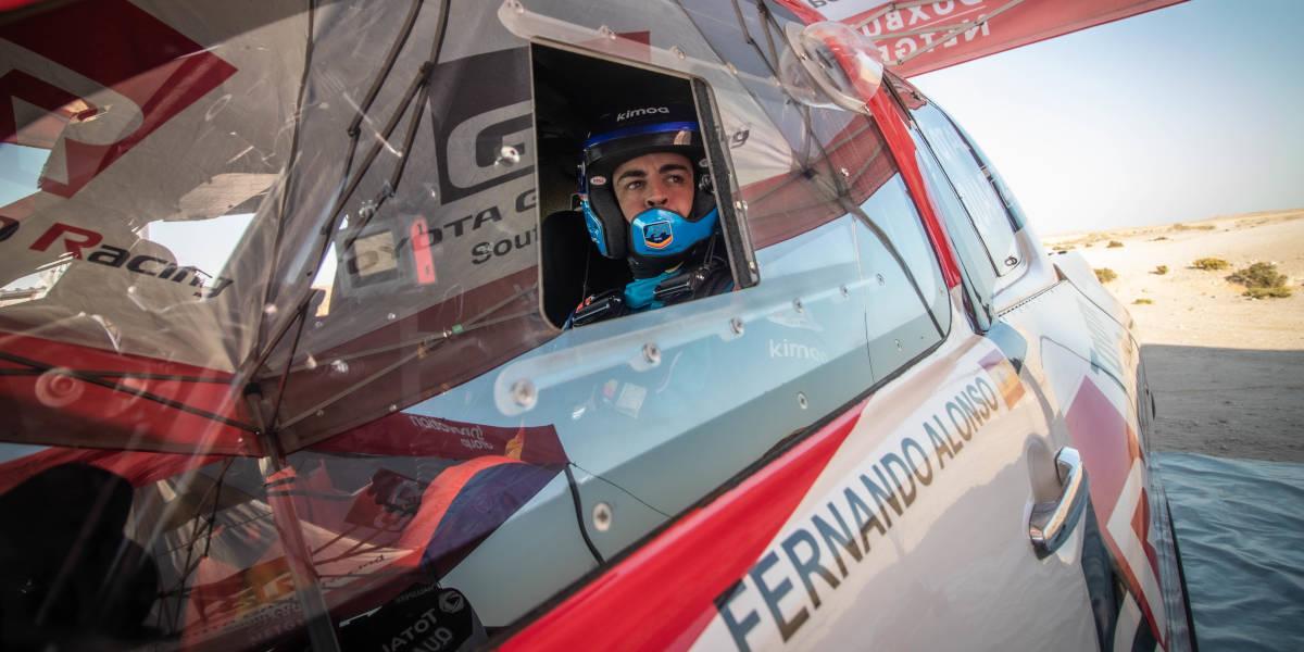 Startet Fernando Alonso im Toyota Hilux bei der Dakar?