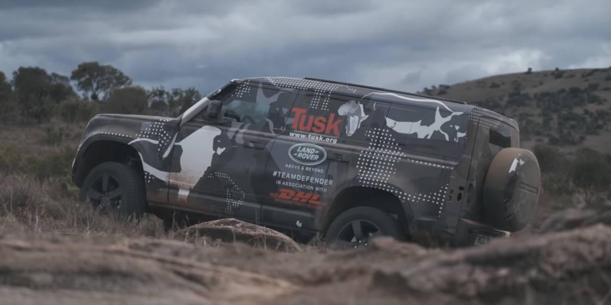Während Land Rover in Afrika testet: Foto-Leak vom neuen Defender